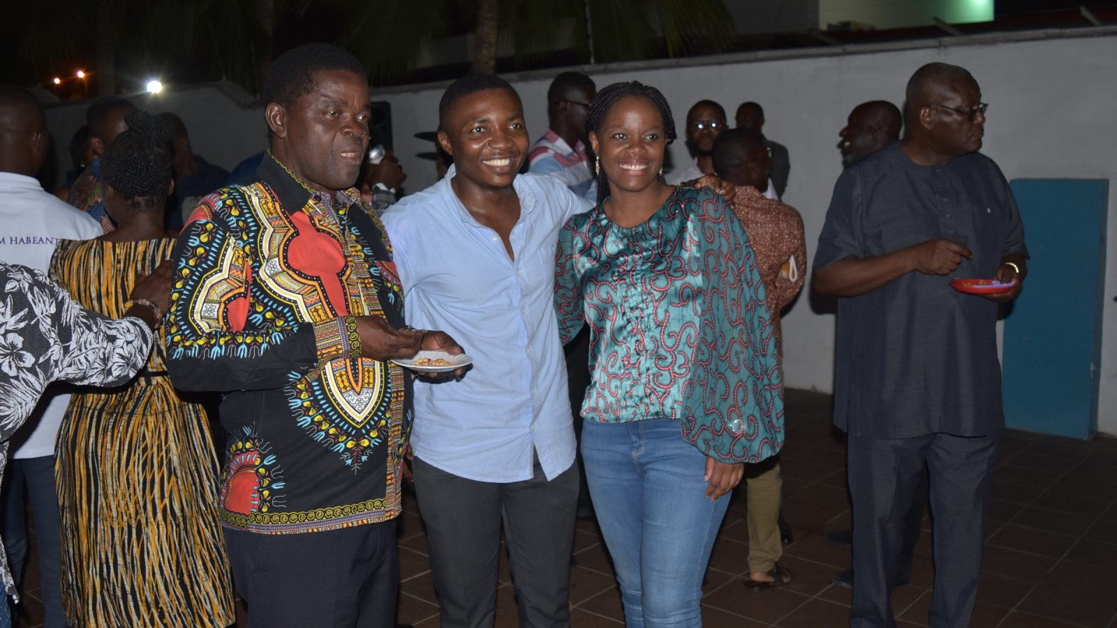 Picture: From left, Founder/Rector, Mr. Kwaku Ansa-Asare; SRC President Ibrahim Anyass; Deputy Rector, Institutional Advancement, Corporate and International Affairs, Mrs. Irene Ansa-Asare Horsham and Deputy Rector, Academic & Student Affairs and Dean, School of Medicine and Allied Health Professions