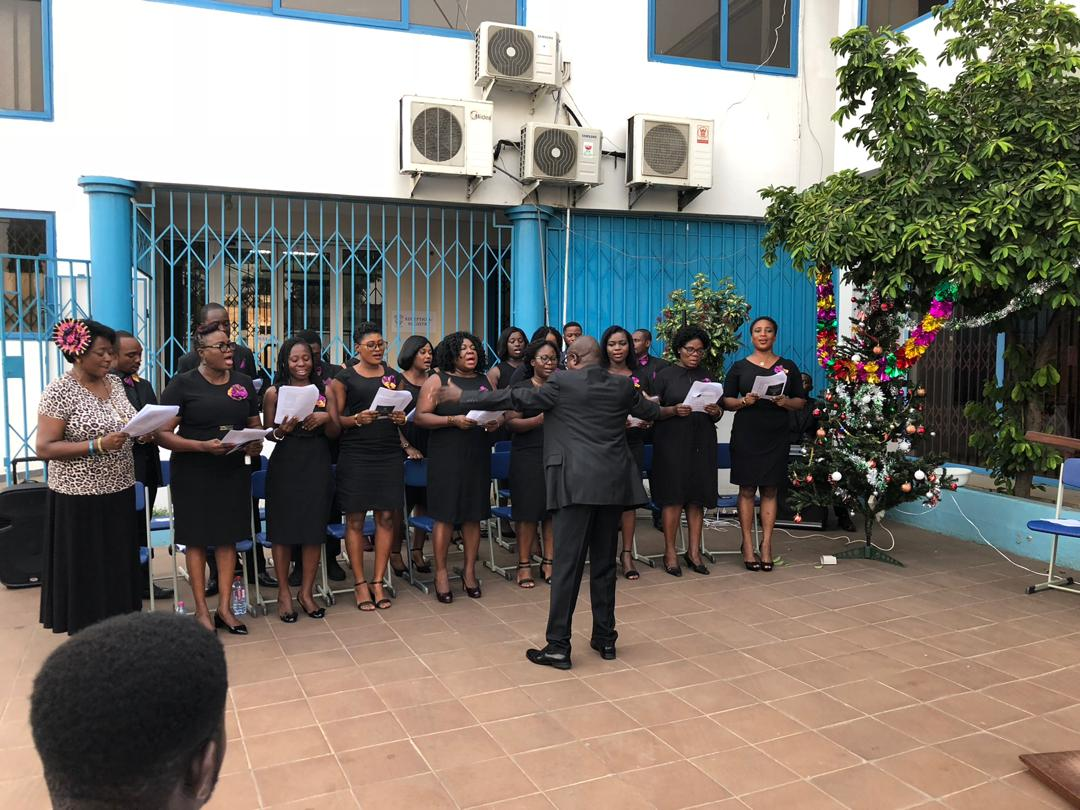 A Section of the MCU Choir