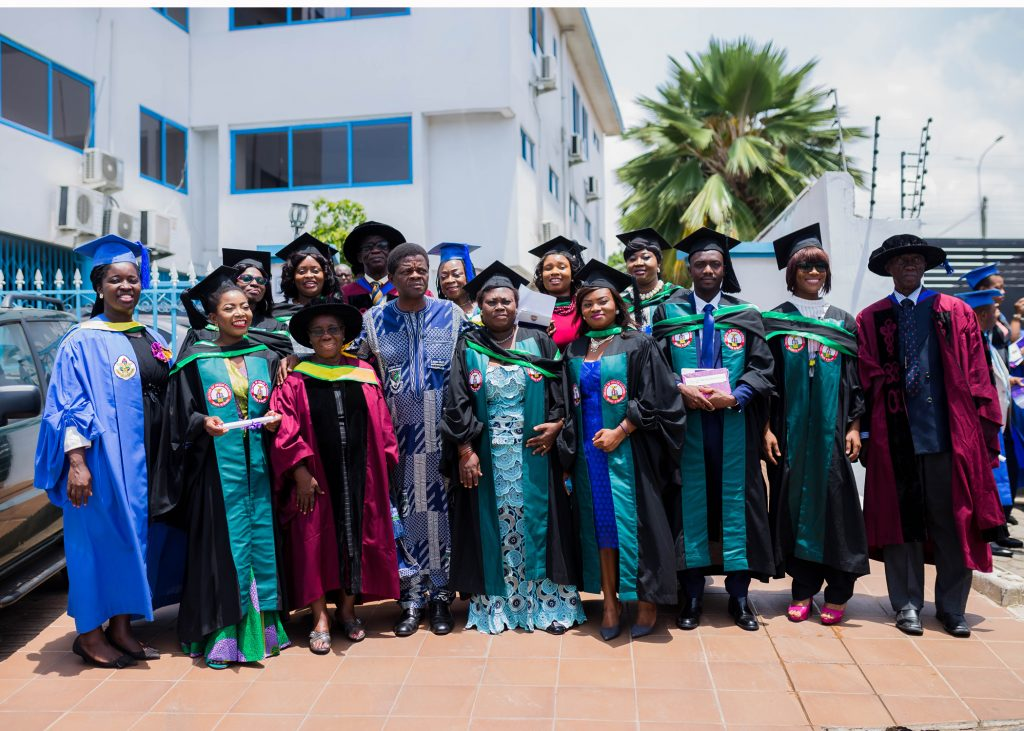 A Section of the BSc. Graduands